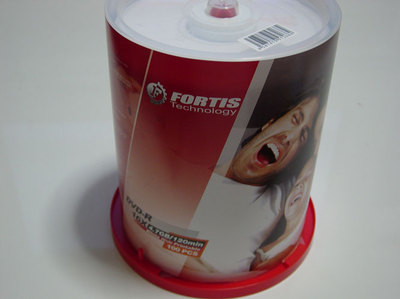 FORTIS製のDVD-R