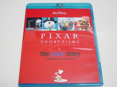 ピクサー・ショート・フィルム & ピクサー・ストーリーのBlu-ray版を購入