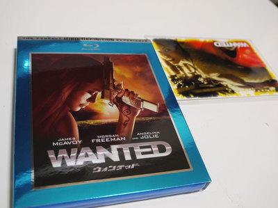 Blu-ray版「ウォンテッド」を購入