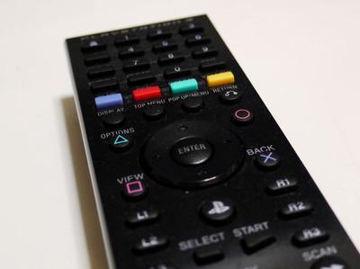 PS3のBDリモートコントローラが敏感
