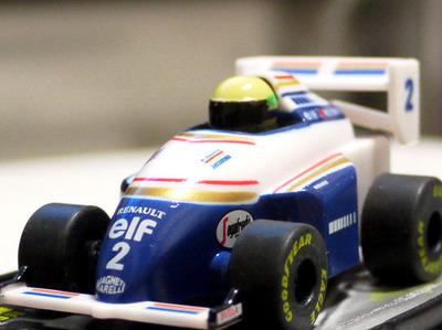 セナ最後のフォーミラカー!1994 ウィリアムズFW16・ルノー