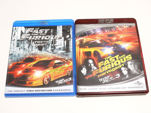 ワイルド・スピードX3 TOKYO DRIFT Blu-ray VS HD DVD1