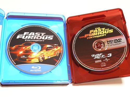 ワイルド・スピードX3 TOKYO DRIFT Blu-ray VS HD DVD2