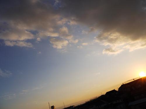 今日の空[2010/01/17]1