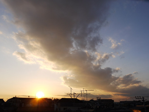 今日の空[2010/01/17]2