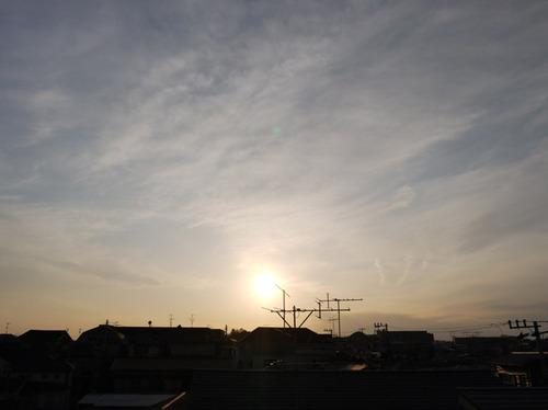 今日の空[2010/02/21]2