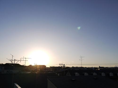 今日の空[2010/03/21]