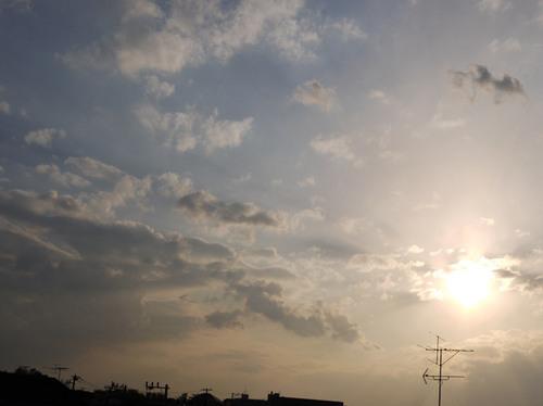 今日の空[2010/04/24]